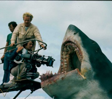 Jaws On Set